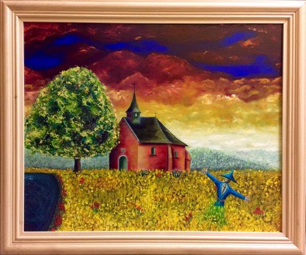 """Stage de peinture """" le paysage """""""