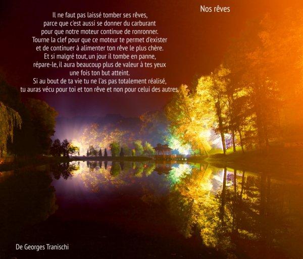 Nos rêves de Georges Tranischi