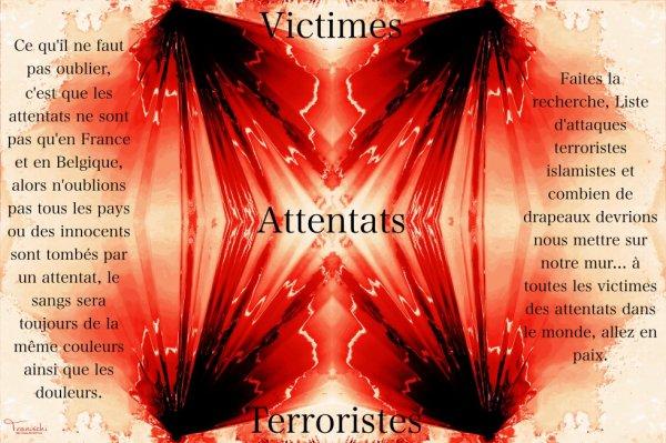 Victimes Attentats Terroristes