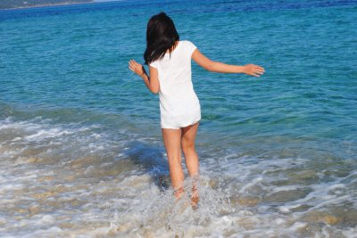 la plage en plein mois de fevrier ;)
