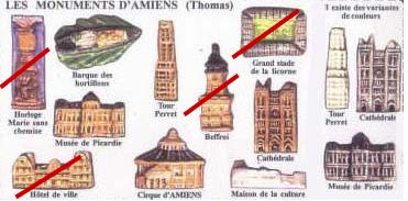 Recherche MH Monuments d'Amiens