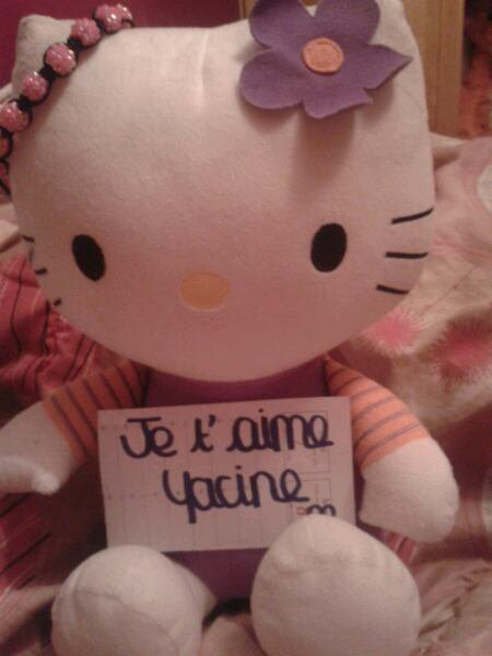 Hello Kitty Yacine !