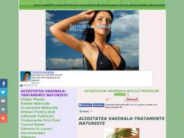 aciditatea vaginala TRATAMENTE NATURISTE