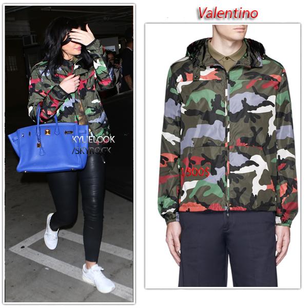 . 26 FÉVRIER 2016 Kylie et Tyga on étaient aperçu lors d'un concert de celui-ci à Los Angeles, Kylie portés une veste Valentino à 1500$ .