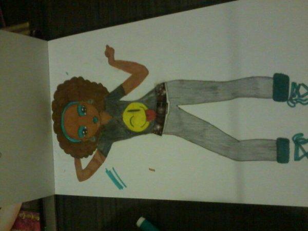 Mon 2eme dessin lol