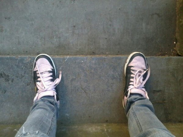 La classe mes chaussures!!!!!!!