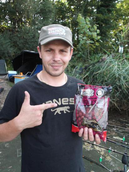 Test bouillettes GULP! CARP Red crustacean