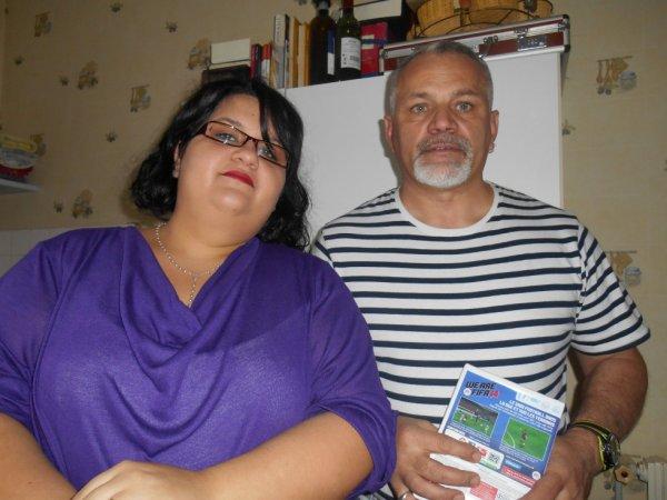 mon papa et moi :) pr son anniv