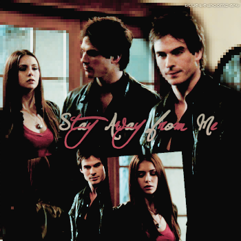 ∙•∙ Blue-Bedrooms-Art ∙•∙    « Stay Away From Me.» Damon & Elena ~ 1x06    Texte.Création.Décoration.Déco Décalée ~ Newsletter ~