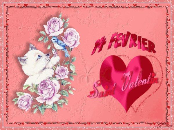 bonne st valentin pour demain bisous marilyne