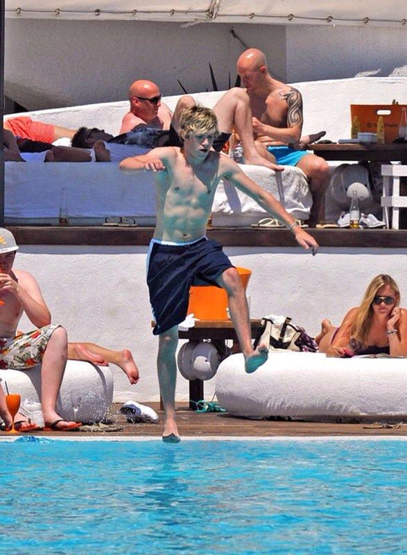 Niall en Espagne a Marbella