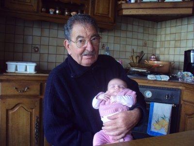 mon papa et sa petite fille