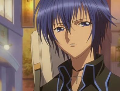 (sur la photo, le personnage s'appelle Ikuto, à voir les prochains articles sur Shugo chara)