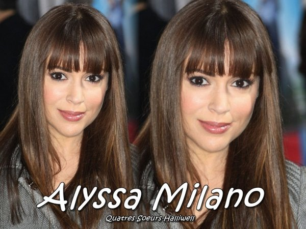 Biographie  Alyssa Milano
