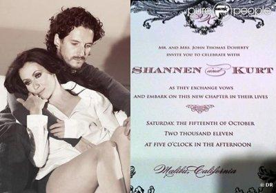 mariage de shannen & kurt