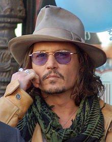 Johnny Depp et Lulu Gainsbourg