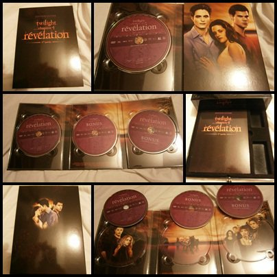 Coffret Twilight chap 4 édition ultime