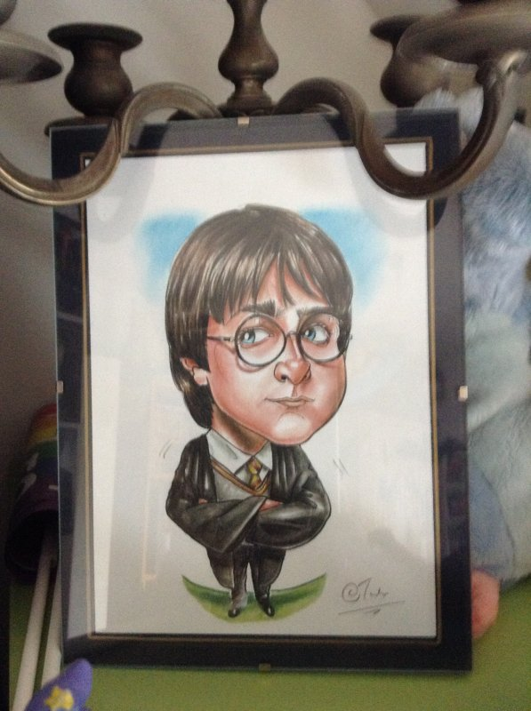 Quelques objets Harry Potter