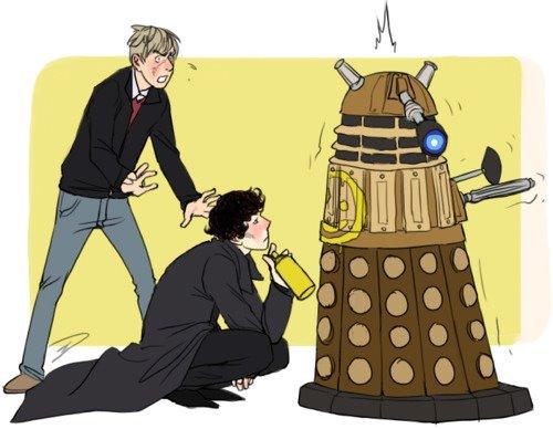 une rencontre de Sherlockians - Whovians ça vous dit ?