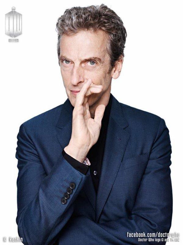 le 12ème docteur Peter Capaldi