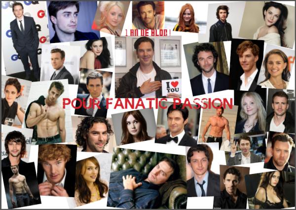 1 an de blog pour Fanatic Passion
