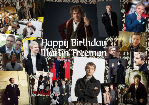 Joyeux anniversaire Martin Freeman !!