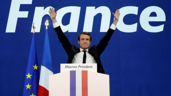 France : Présidentielle 2017: Emmanuel Macron élu avec 65,5% des suffrages