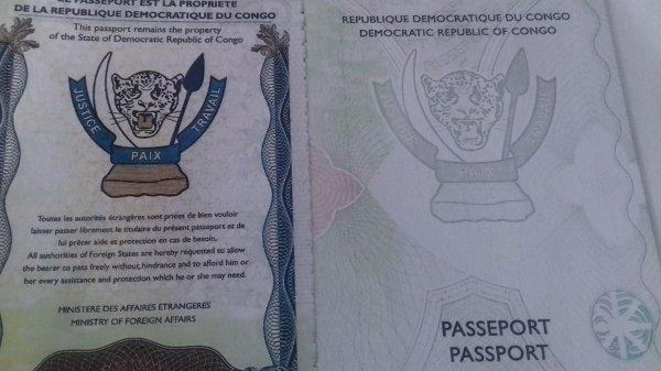 RDC : Passeport biométrique, échéance prolongée jusqu'au 14 janvier 2018 avec possibilite d'extension au  14 janvier 2019