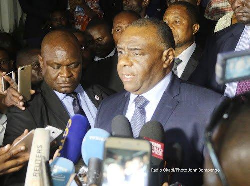 BIENVENU MASSAMBA MP DENONCE LA TENTATIVE DU GOUVERNEMENT ILLEGAL ET ILLEGITIME DE LA RDC DE QUITTER LA CPI