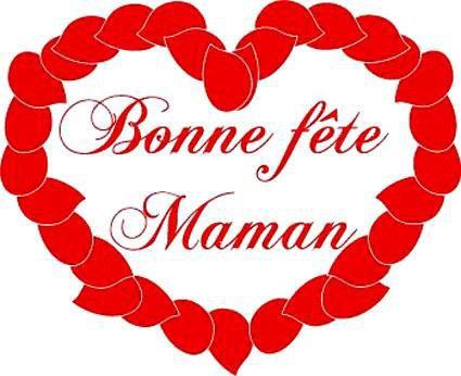 LA FÊTE DES MÈRES est célébrée ce dimanche 26 mai 2013 A ma maman, à toutes les mamans, Oh l'amour d'une mère ! Amour que nul n'oublie ! Pour ta bonté, ton indulgence, ta compréhension, ta patience……pour tout cela et plus encore je te dis merci. Tu as toujours montré que tu voulais pour nous ce qu'il y a de meilleur, et c'est avec tendresse qu'à mon tour, je te souhaite le meilleur en tout. BONNE FÊTE MAMAN JE T'@IME