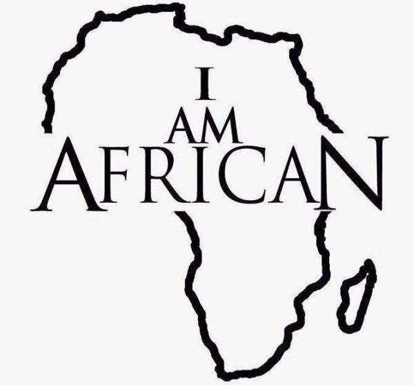 et fièr de l'etre I love Africa