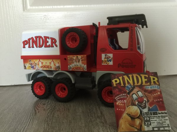 Camion Pinder terminé ! Vos avis ?