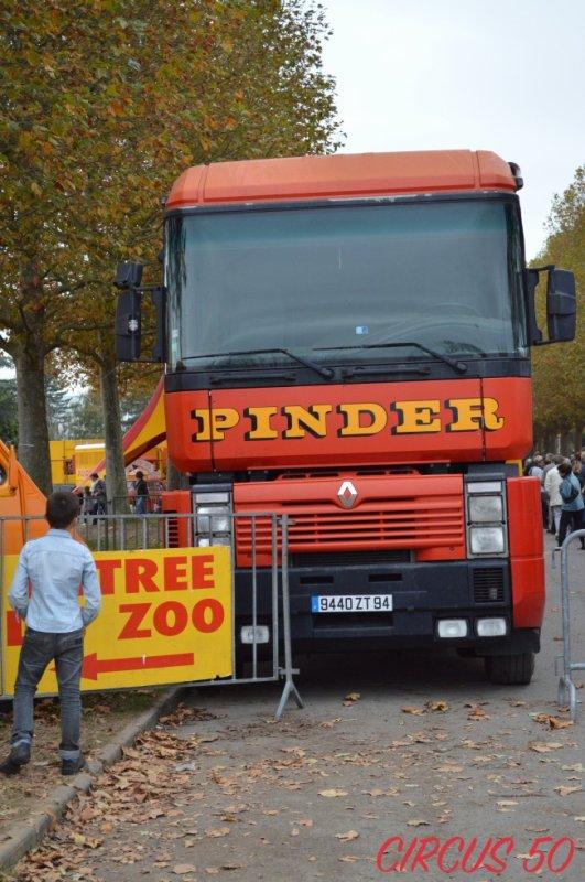 Le porteur 26T de chez Pinder !