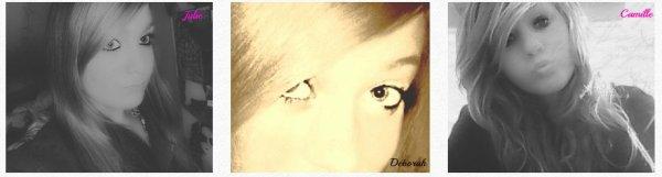 Julie ♥ Deborah ♥ Camille ♥ !
