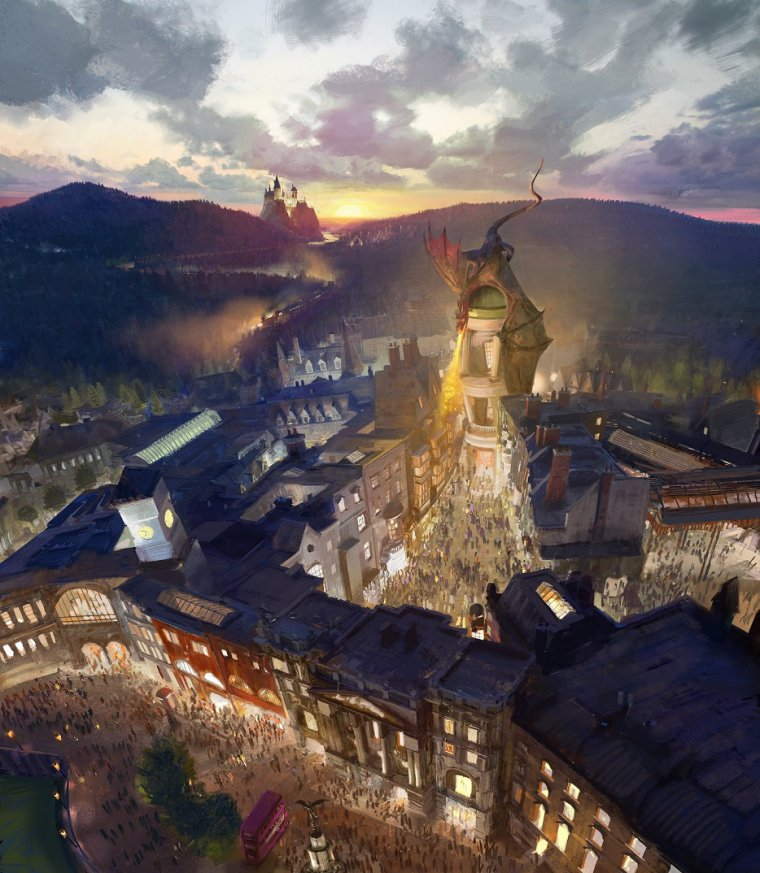 Extension du parc Harry Potter