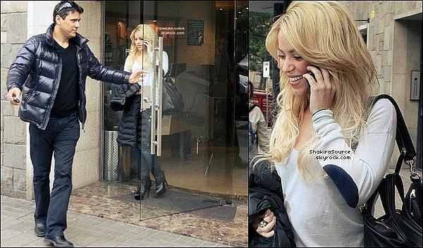 🎥 Making of de la Publicité du parfum de Shakira « S by Shakira ». 23 Mars 2011