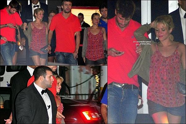 🎉 Shakira est allée au « Club Cocobongo ». 15 Juillet 2011 - Cancun, Mexique.