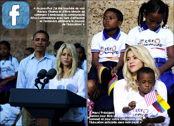 ✴️️ Shakira est allée à la « Réunion Bilatérale à l'Eglise de San Pedro ». 15 Avril 2012 - Cartagena, Colombie.