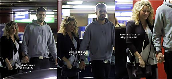 🍿 Shakira & Gérard sont allés voir le film Skyfall au « Cinéma ». 14 Novembre 2012, Barcelone - Espagne.