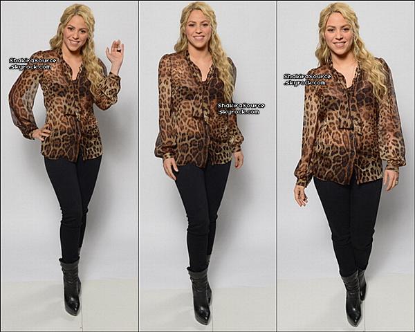 ✴️️ Shakira & Usher sont allés au « NBC Universal Summer 2013 Press Day » qui avait lieu à « L'Hotel Langham ». 22 Avril 2o13, Pasadena - Etats-Unis.