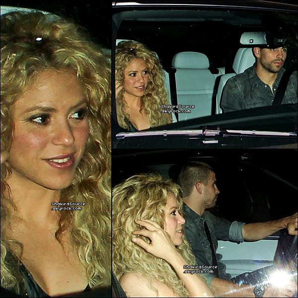 🏬 Shakira & Tonino sont allés au « Magasin Bel Bambini ». 25 Mai 2o13, West Hollywood - Etats-Unis.