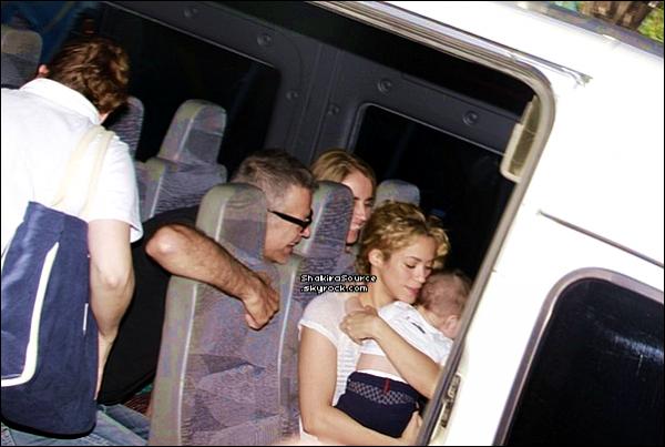 🏠 Puis, Shak, Milan & les parents de Gérard ont été vus arrivant à « L'Hotel Gran Marquise ».  26 Juin 2o13. Fortaleza - Brésil.