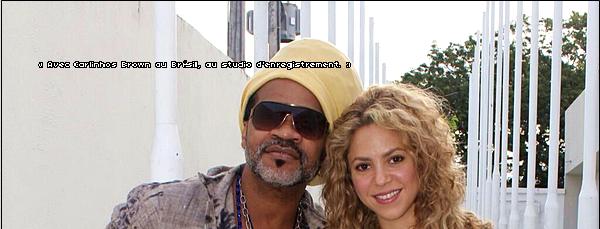 🍴 Shakira a été vue arrivant à « L'Hotel Luzeiros ». 25 Juin 2o13. Fortaleza - Brésil.