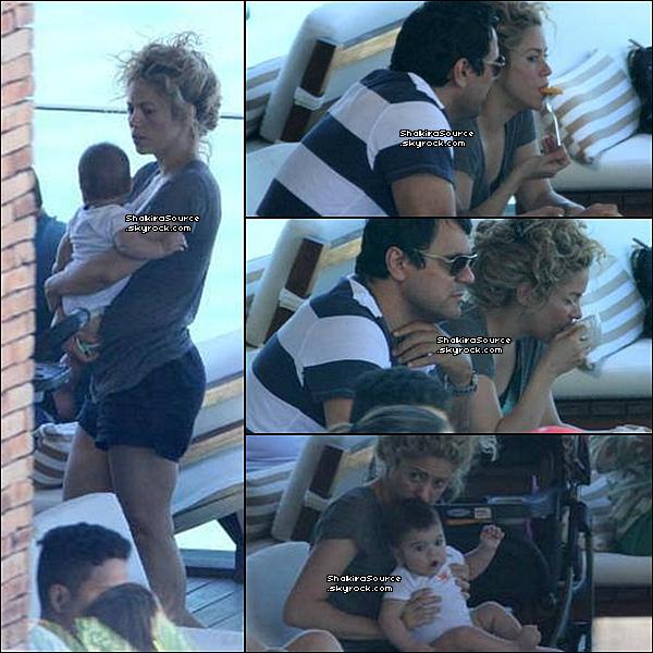 🏠 Shakira, Tonino & les parents de Gérard ont été vus dans leur  « Hôtel ».  29 Juin 2o13. Rio de Janeiro - Brésil.