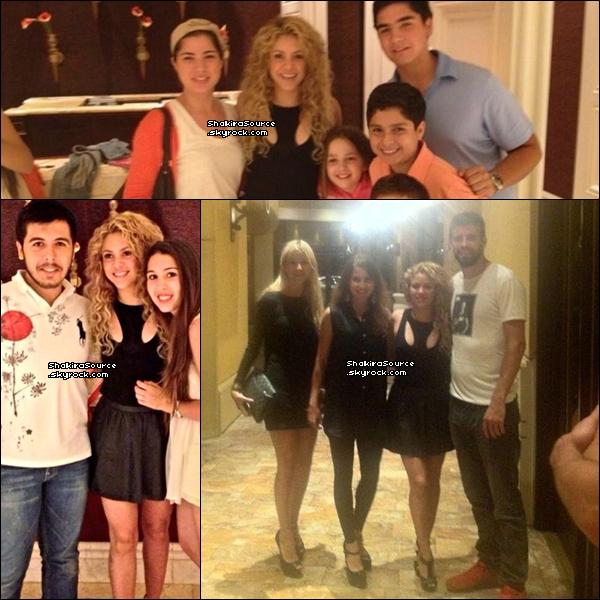 🌴 Shakira, Gérard & Milan ont été vus sur une « Plage ». 14 Juillet 2o13. Hawaï - Etats-Unis.
