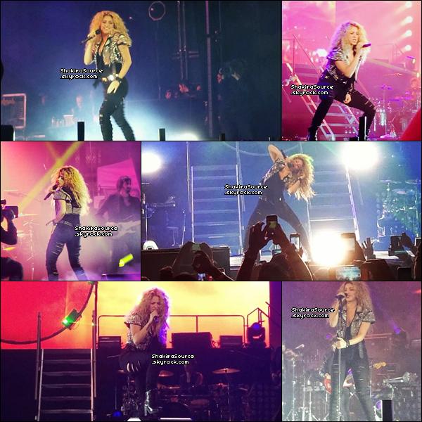 🎤 Shakira a donné un concert au « Bryant Park ». o9 Octobre 2o13. New-York - Etats-Unis.