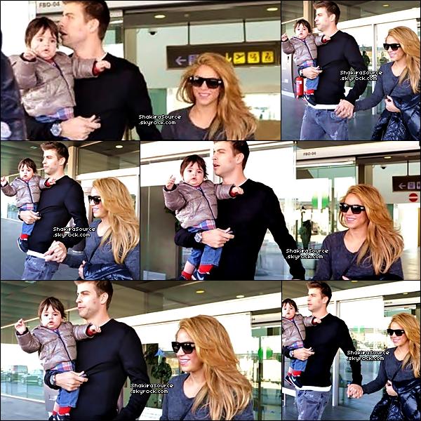 🏬 Shakira, Milan & Tonino sont allés « Faire du Shopping ». 14 Décembre 2o13 - Barcelone, Espagne.