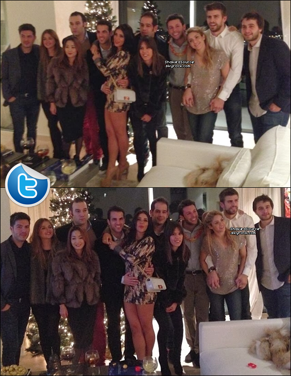 🎉 Shakira & Gérard sont ensuite allés dans un « Nightclub ». 31 Décembre 2o13 - Barclone, Espagne.