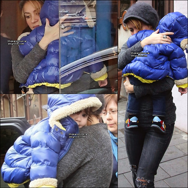 🏬 Shakira est allée au magasin « The Candy Company ». 21 Janvier 2014 - Barcelone, Espagne.
