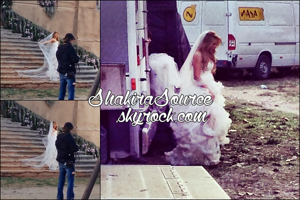 🎥 Shakira a été vue sur le « Tournage de Empire ». o8 Mars 2014 - Colonia Sedo, Espagne.